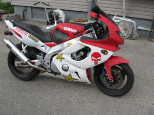 1996 yamaha yzf-600 parts bike