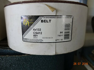 Sanding Belts---Grinding Belts Strathcona County Edmonton Area image 1