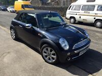Mini One Convertible 2007, Astro Black