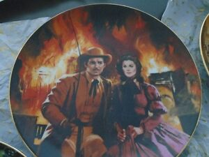 Gone With the Wind, Golden Anniversary Plate series Peterborough Peterborough Area image 3