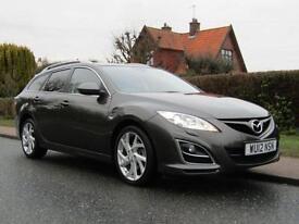 2012 Mazda 6 2.2d 180 BHP SPORT 5DR TURBO DIESEL ESTATE ** 72,000 MILES * FUL...