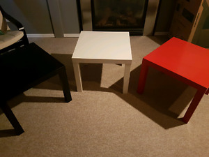 Ikea Lack side tables