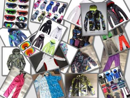 NEW Snow jacket, pants from $20  goggles from $10,gloves from $5