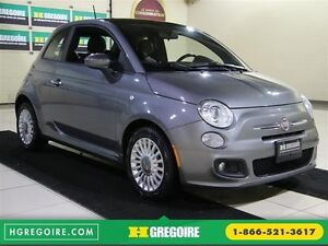 2012 Fiat 500 LOUNGE CUIR TOIT MAGS