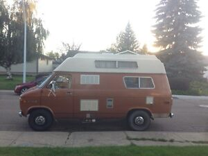 Felix the Road Potato (Chevy Camper Van)