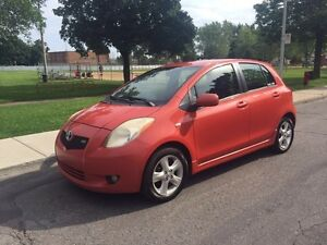 Toyota Yaris RS 2007. Manuelle. Full equipe. 1,5 litres
