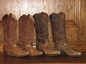 All leather Cowboy Boots  Womens/ Mens