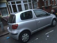 Low millage Toyota Yaris to sell. Very good condition