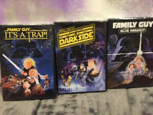 Family Guy Star Wars Trilogy Complete DVD Set - Brand New Unopen