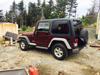 For sale two tj jeeps or trade
