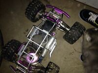 Gas powered rc 4x4