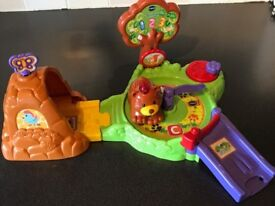 VTECH TOOT TOOT ANIMALS FOREST FUN PLAYSET WITH BEAR