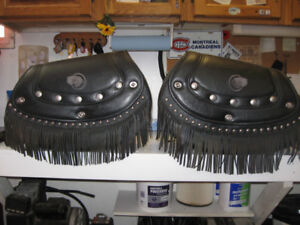 Indian saddle bags and seat