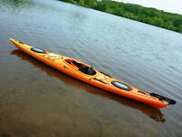 Riot Edge 14.5 (with Rudder) Sea Kayak Package (3 Available)