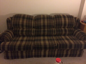 Big comfy couch and chair