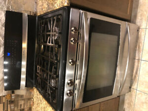 Kenmore elite gas stove