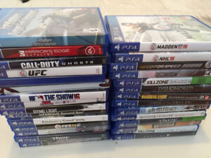 Jeux PS4 pas cher/ Playstation 4 games very cheap