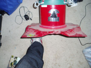 Christmas mountain tree holder