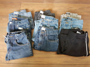 9 Pairs Of Boys Size 10 pants