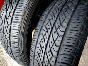2 pneus d'été YOKOHAMA  225/55R17