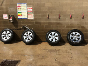 "20"" Chev/Gmc 6 Bolt rims and tires"