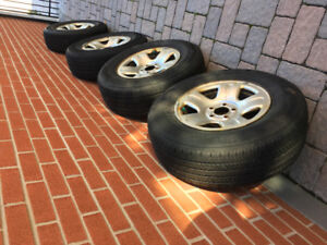 All Season Bridgestone Dueler H/L Tires