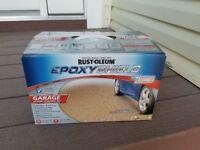 Garage epoxy floor seal