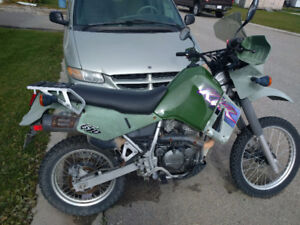 Trade klr 650 for snowmobile
