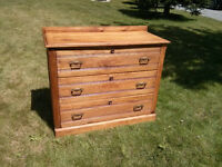 Antique Dresser with Original Hardware