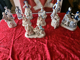 Assorted Figurines 10 plus one free