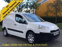 2015/ 15 Peugeot Partner 850 1.6 HDi 92 Professional L1 Fridge Chiller ] Van A/C