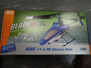 R/C Plane/Helicopter Blade MSR BNF E-flite Great Condition