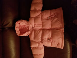 New pink very soft coat 12 month