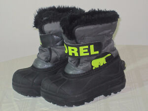 Boys SOREL Boots - Toddler 9 - $25.00
