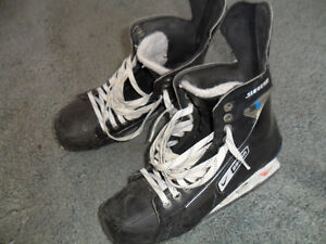 Bauer and CCM Skates Size 11 to 12
