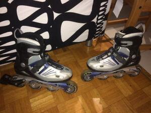Patins en ligne - Skates / size 6 and 10