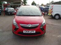 2014 Vauxhall Zafira EXCLUSIV CDTI Auto MPV Diesel Automatic