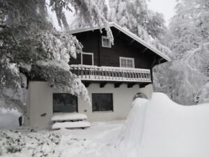 Chalet Suisse a louer en Estrie- jour de l'an