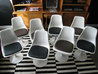 LOTS of Great Vintage Swivel Base Tulip Chairs To Choose From
