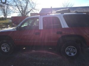 2003 Chevy Tahoe AS IS
