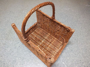 "Wicker Basket 17""x12""x11"""