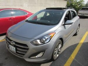 2016 Hyundai Elantra GT Limited MOON ROOF! HEATED SEATS! NAV!...