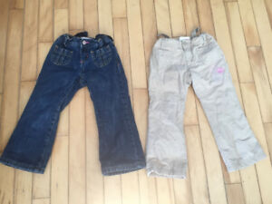 Girls size 3 lined pants
