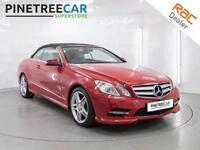 2012 MERCEDES BENZ E CLASS 2.1 E250 CDI BlueEFFICIENCY Sport 7G Tronic 2dr Auto