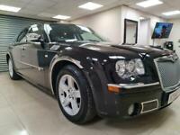 Chrysler 300C 3.0 CRD V6 Black Auto Leather 214BHP DIESEL WARRANTY 12 MONTHS MOT