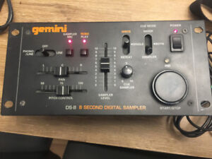Gemini DS-8.  8 Second Digital Sampler
