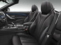 * FULL LEATHER INTERIOR * bmw 4 series f33 f32 m sport seats, complete interior, door cards, trims