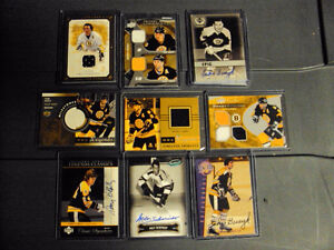 Assorted Bruins Memorabilia cards