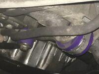Clio twisted 172 bottom engine dog bone mount