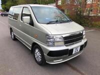 Nissan Elgrand 3.0 Diesel 4x4. 8 SEATS. SUPER LOW GENUINE MILEAGE, 60 K. NO VAT.